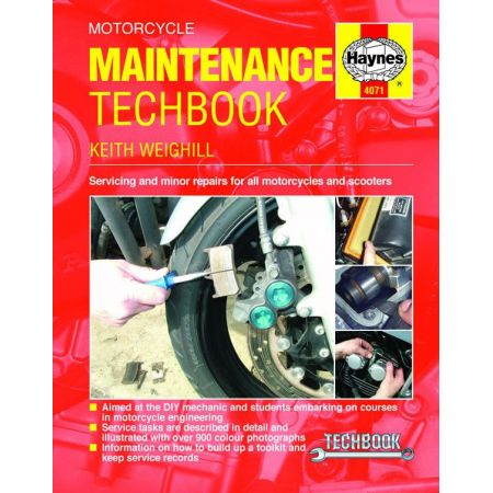 Motorcycle Maintenance TechBook Revue technique Haynes Anglais