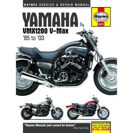 V-Max 85-03 Revue technique Haynes YAMAHA Anglais