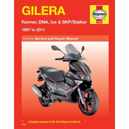 Runner DNA Ice SKP Stalker 97-11 Revue technique Haynes GILERA Anglais