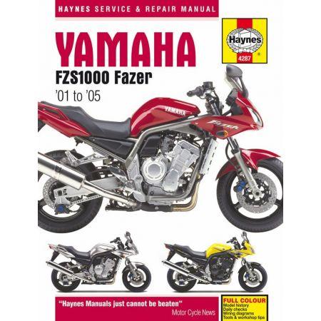 FZS 1000 Fazer 01-05 Revue technique Haynes YAMAHA Anglais