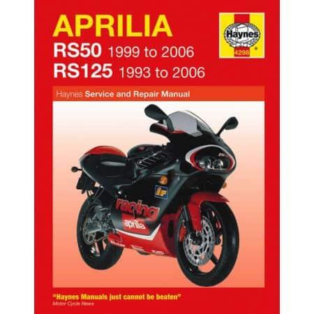 RS 50 99-06 RS125 93-06 Revue technique Haynes APRILIA Anglais