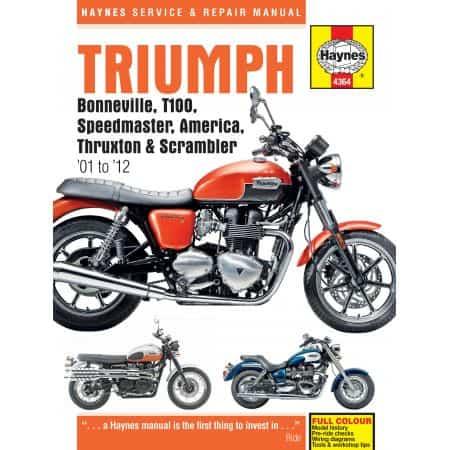 Bonneville 01-15 Revue technique Haynes TRIUMPH Anglais