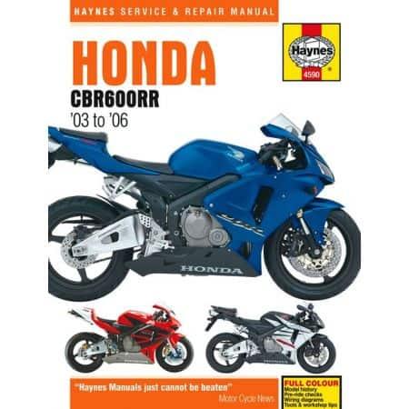 CBR 600 RR 03-06 Revue technique Haynes HONDA Anglais