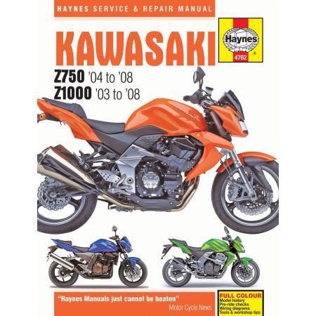 Z750 Z1000 03-08 Revue technique Haynes KAWASAKI Anglais