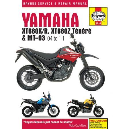 XT660 MT-03 04-11 Revue...