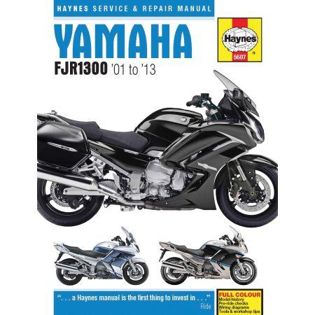 FJR 1300 01-13 Revue technique Haynes YAMAHA Anglais