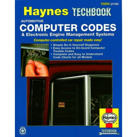 Automotive Computer Codes and Electronic Engine Management Systems Techbook Revue technique Haynes Anglais