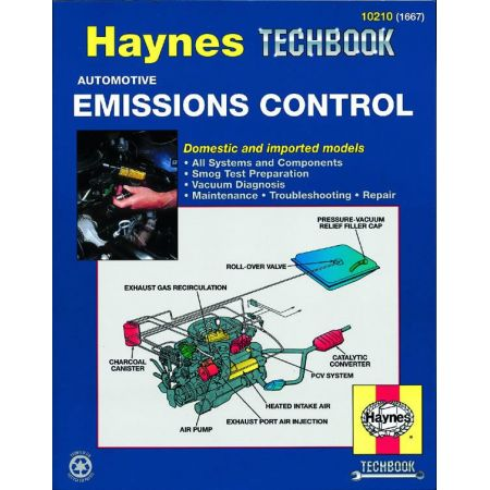 Automotive Emissions Control Techbook Revue technique Haynes Anglais