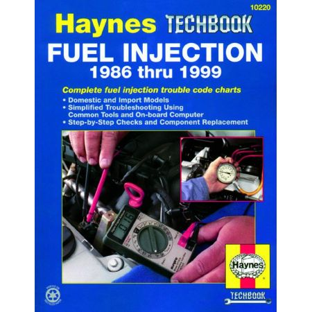 Fuel Injection 86-99 Techbook Revue technique Haynes Anglais