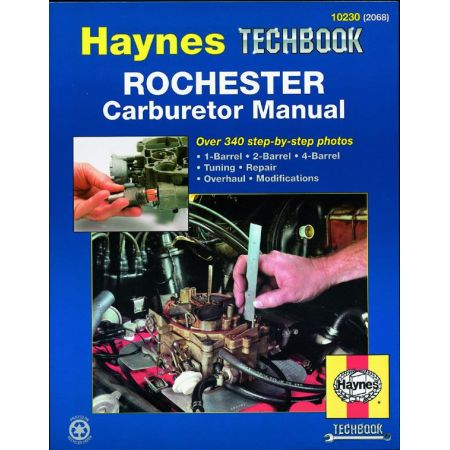 Rochester Carburetor Techbook Revue technique Haynes Anglais