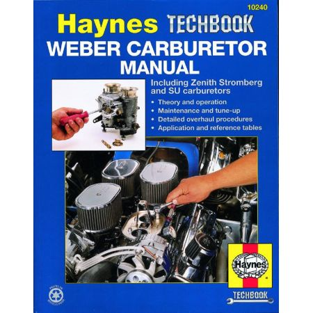 Weber Carburetor Techbook Revue technique Haynes Anglais