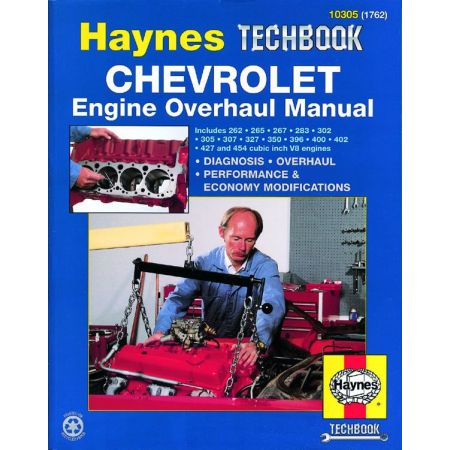 Engine Overhaul Revue technique Haynes CHEVROLET Anglais