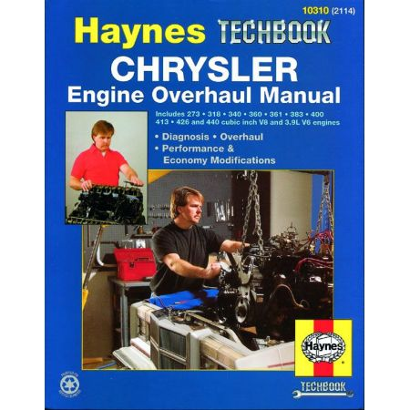 Engine Overhaul Revue technique Haynes CHRYSLER Anglais
