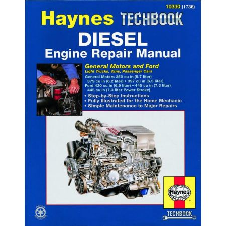 Diesel Engine Repair Techbook Revue technique Haynes Anglais
