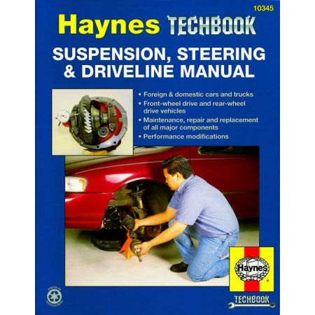 Suspension Steering and Driveline Revue technique Haynes Anglais