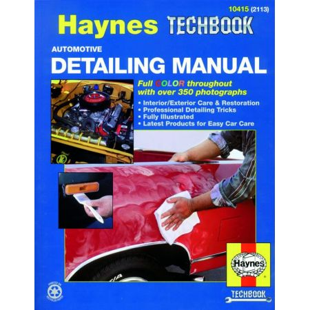 Automotive Detailing Revue technique Haynes Anglais
