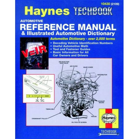 Automotive Reference Manual Illustrated Revue technique Haynes Anglais