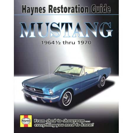 Mustang Restoration Guide 14-70 Revue technique Haynes FORD Anglais