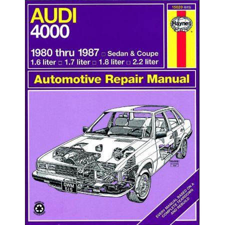 4000 Sedan - Coupe 80-87 Revue technique Haynes AUDI Anglais