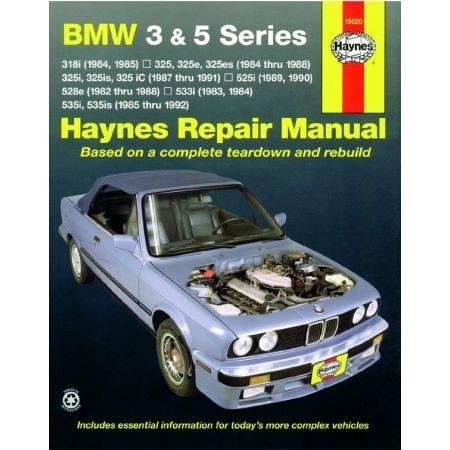 3 5 Series 82-92 Revue technique Haynes BMW Anglais