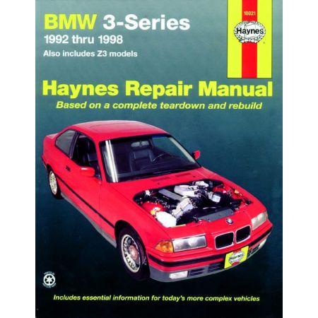 3-Series + Z3 92-98 Revue technique Haynes BMW Anglais