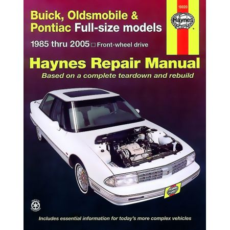 Full-Size FWD 85-05 Revue technique Haynes BUICK OLDSMOBILE PONTIAC Anglais