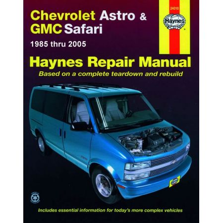 Astro - Safari 85-05 Revue technique Haynes CHEVROLET GMC Anglais