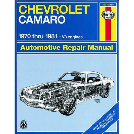 Camaro 70-81 Revue technique Haynes CHEVROLET Anglais