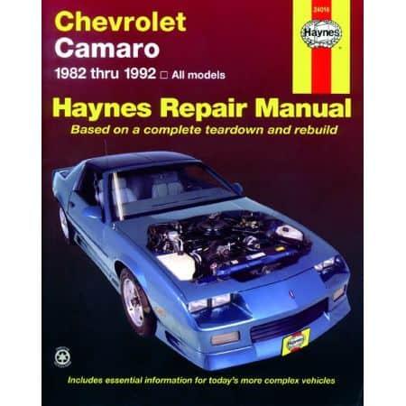 Camaro 82-92 Revue technique Haynes CHEVROLET Anglais