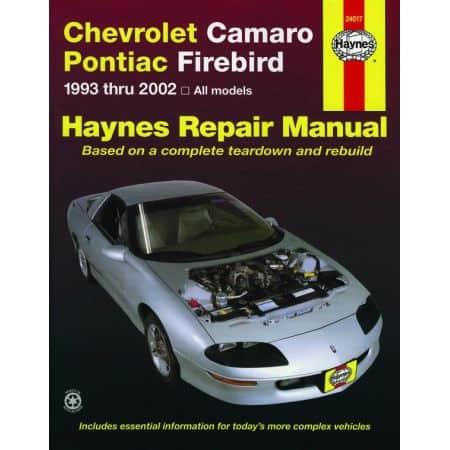Camaro Firebird 93-02 Revue technique Haynes PONTIAC Anglais