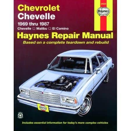 Chevelle Malibu El 69-87 Revue technique Haynes CHEVROLET Anglais