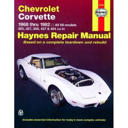 Corvette 68-82 Revue technique Haynes CHEVROLET Anglais