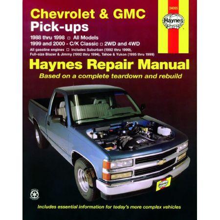 Pick-ups 88-98 C K Classic 99-00 Revue technique Haynes CHEVROLET GMC Anglais