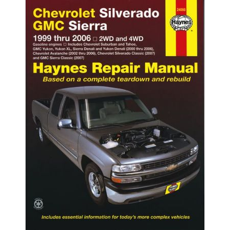 Full-size Pick-up 99-07 Revue technique Haynes CHEVROLET GMC Anglais