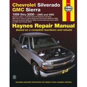 Full-size Pick-up 99-07 Revue technique Haynes CHEVROLET GMC Anglais