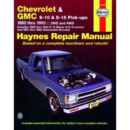 S10 S15 82-93 Revue technique Haynes CHEVROLET GMC Anglais