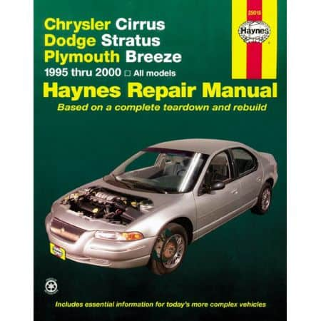 Cirrus Stratus Breeze 95-00 Revue technique Haynes CHRYSLER Anglais