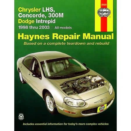 LHS Concorde 300M 98-04 Revue technique Haynes CHRYSLER DODGE Anglais