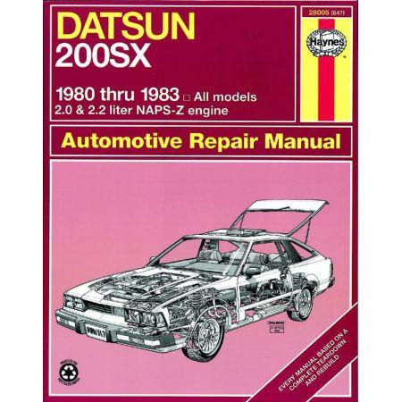 200SX 80-83 Revue technique Haynes DATSUN Anglais