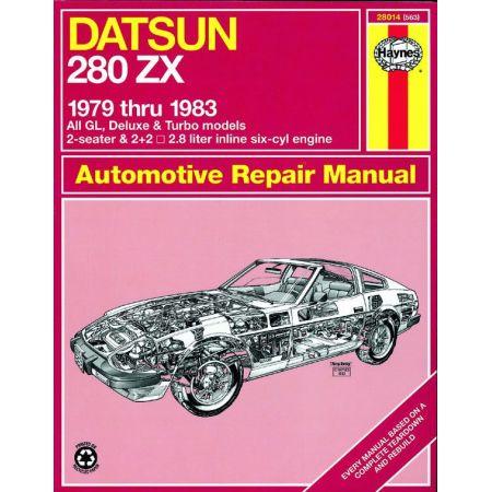 280ZX 79-83 Revue technique Haynes DATSUN Anglais