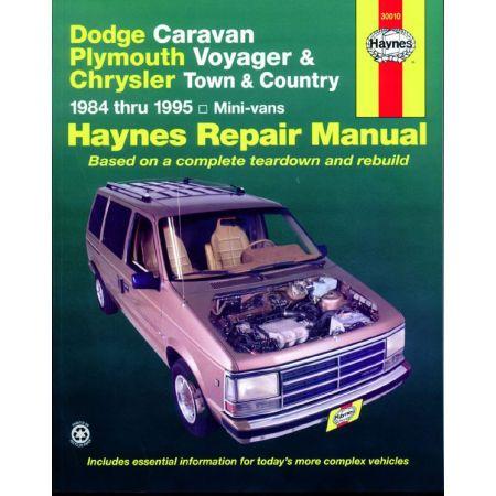 Caravan Voyager 84-95 Revue technique Haynes DODGE Anglais