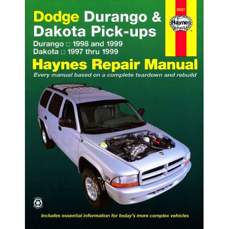 Durango 98-99 -Dakota 97-99 Revue technique Haynes DODGE Anglais