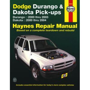Durango 00-03 - Dakota 00-04 Revue technique Haynes DODGE Anglais