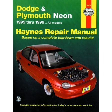Neon 95-99 Revue technique Haynes DODGE PLYMOUTH Anglais