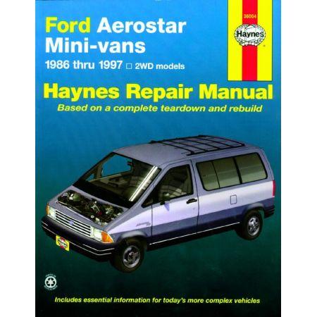 Aerostar 86-97 Revue technique Haynes FORD Anglais