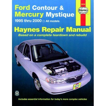 Contour - Mystique 95-00 Revue technique Haynes FORD MERCURY Anglais