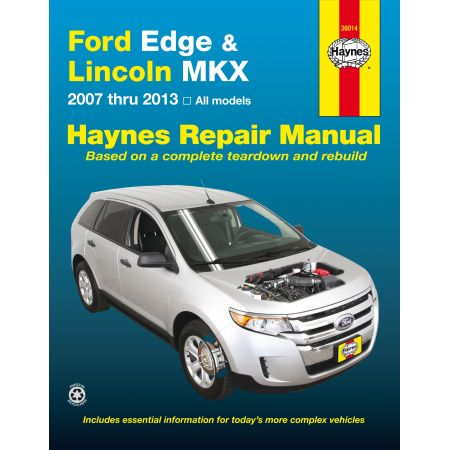 Edge MKX 07-13 Revue technique Haynes FORD LINCOLN Anglais