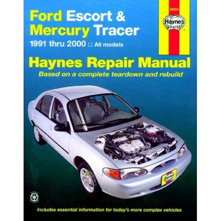 Escort - Tracer 91-02 Revue technique Haynes FORD MERCURY Anglais