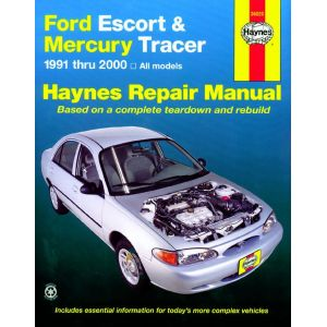 Escort - Tracer 91-02 Revue technique Haynes FORD MERCURY Anglais