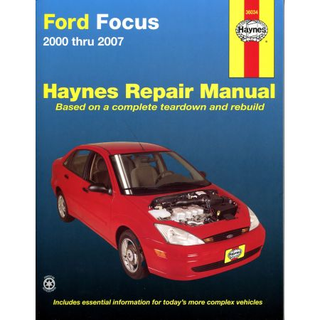 Focus 00-11 Revue technique Haynes FORD Anglais
